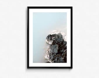 Blue Lagoon / Iceland / Analogue Photography / Travel / Arctic / Decoration