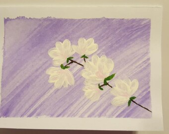 Tree Flower Notecards