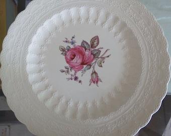Vintage Spode Copeland's, England Billingsley Rose Plate