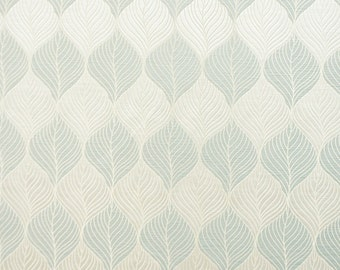 Drapery/Upholstery Jacquard Fabric Percy 444 Arctic By The Yard