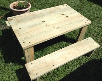 Childrens Picnic Table Set