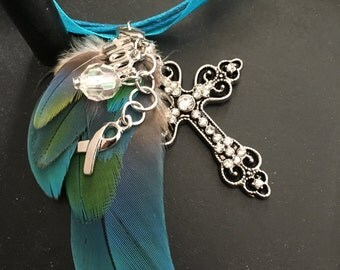 Exotic Feather Necklace