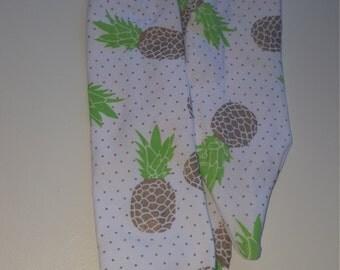 Pineapple tie knot headbands