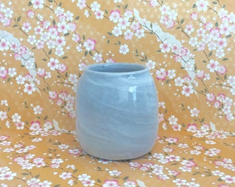 Slipped Vase, Wide Mouth