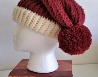Slouchy Santa Style Hat