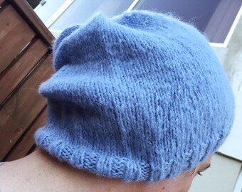 Cloudy soft mohair hat