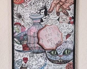 Alice in Wonderland 11x14in Poster