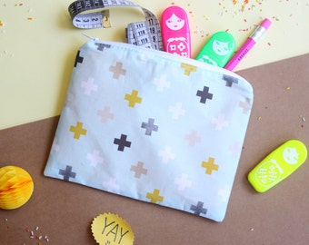 Sewing Kit, DIY Kit, Sewing for Beginners, Pencil Case Kit, Easy Sewing Project, Craft Kit, kids diy kit, DIY Gift, Back to School