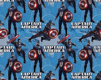 Marvel Fabric Captain America Fabric Captain America Star Fabric From Springs Creative