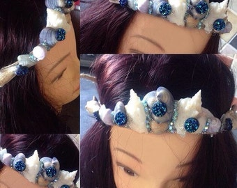 Aqua Mermaid Crown