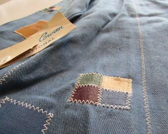 Vintage 1970s Bernard Cowan International Denim Jean Jacket tags on