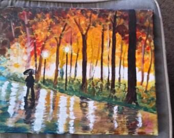Autumn rain.  #74