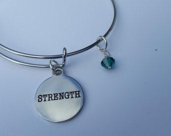 Strength May- emerald crystal