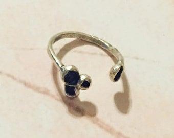 Silver Crawler Ring