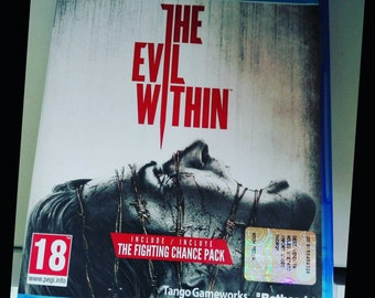 PS4 game THE EVIL WITHIN Used for play station 4