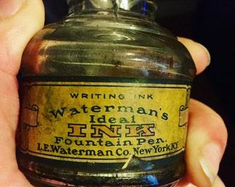 Waterman Fountain Pen Etsy