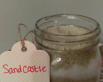 Sand Castle 8 oz. Bath Salt Scrub