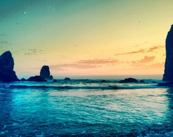 The Calm of Cannon Beach by CambriGrace