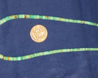 Turquoise Heshi necklace