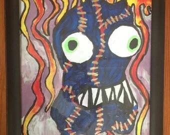 Lava-Stien Monster