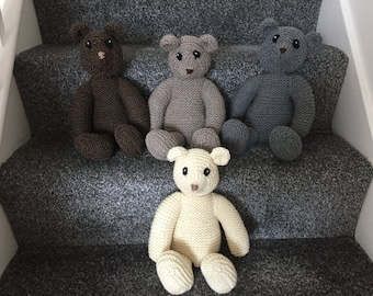 Handmade Knitted Teddy Bears