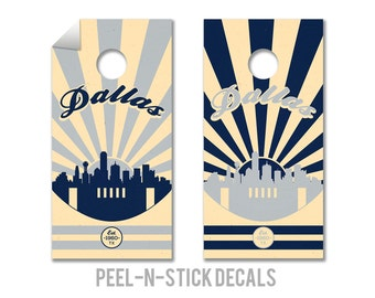 Dallas Cowboys Cornhole Board Decals