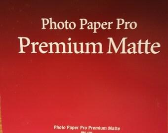 Canon Photo Paper Pro Premium Matte 8.5x11