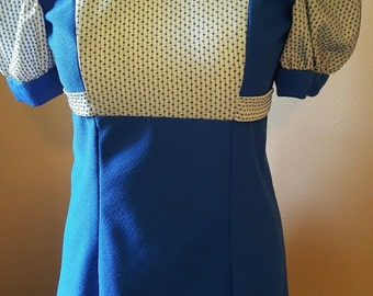 Vintage Womens Dress Size Small Medium Possibly Handmade 1940's