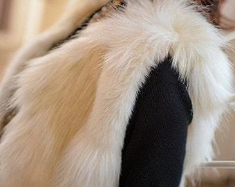 Faux Fur Vest Long XPlush