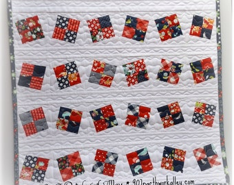 Criss Cross American Girl Doll Quilt