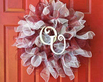 OU Wreath / Boomer Sooner / Sooner Nation / University of Oklahoma Wreath