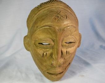 African tribal art mask-CHOKWE- DR CONGO