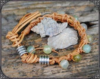 BOHO agate bracelet