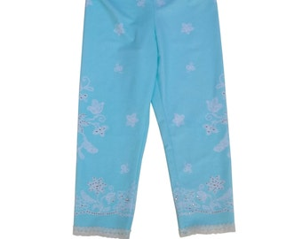 Lace Icing With Sprinkles leggings girls seafoam