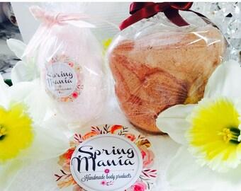 Spring manía 6 Easter bath bombs+one Aromatherapy  floating island by spring manía
