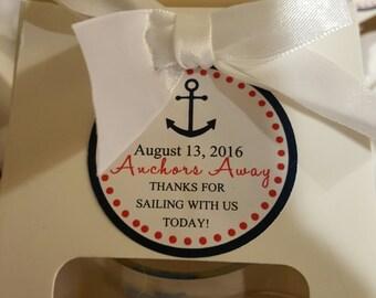 Nautical Tag Favor