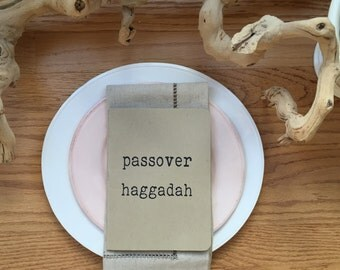 5 Passover Haggadah for Kids and Families - Set of 5