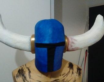 Shovel knight Helmet cosplay