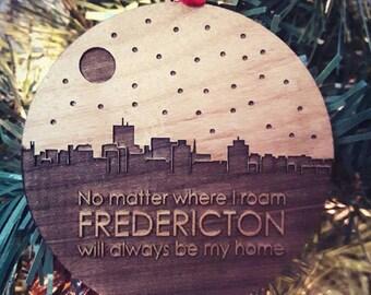 Fredericton Ornament