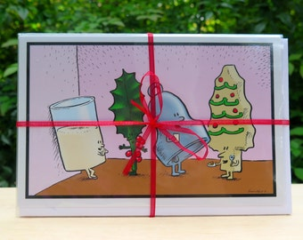 Tidings to ya!  (5 pack) Holiday Card, Christmas Card
