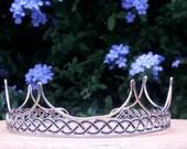 6 Point Crown Coronet Headpiece Renaissance Medieval Baronial AOA