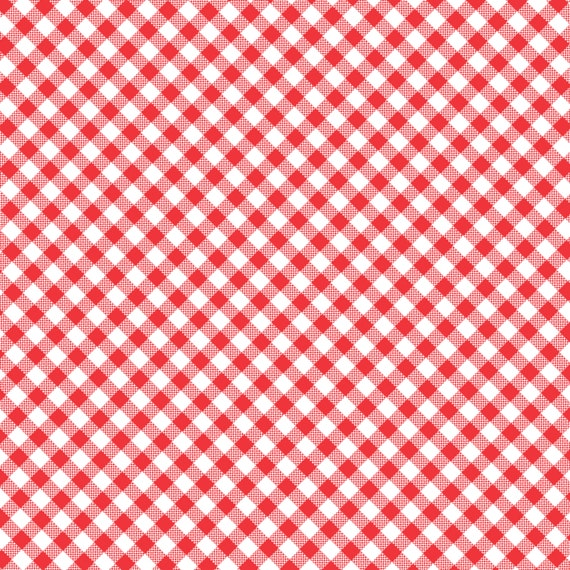 Red Gingham Check- Quilt Camp Collection