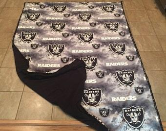 Raiders blanket