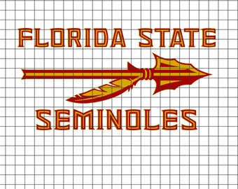 Florida State Seminoles SVG/DXF/download for Cricut and Silhouette