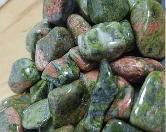 Tumbled Stones - Unakite - Natural