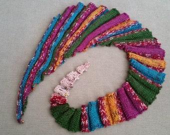 Beautiful Hand knit Neck Wrap