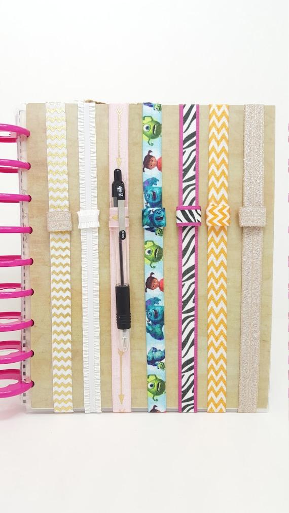 Custom planner band happy planner erin condren planner for Happy planner accessories