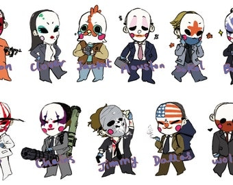 PAYDAY 2 Stickers