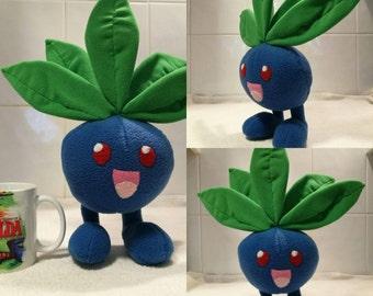 Pokemon plush Oddish handmade