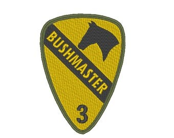1st Cavalry Shoulder Patch